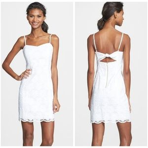 Lilly Pulitzer McCallum Dress In White | 00